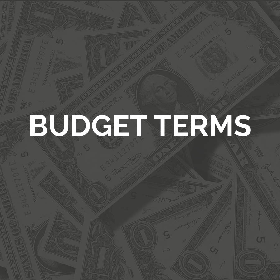 Budget Terms