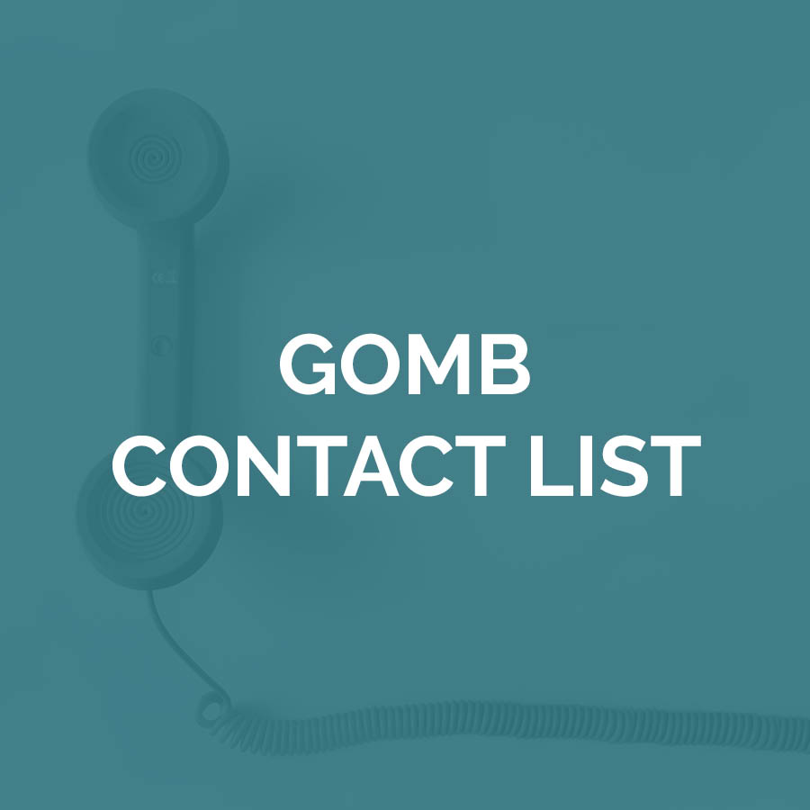 GOMB Contact List
