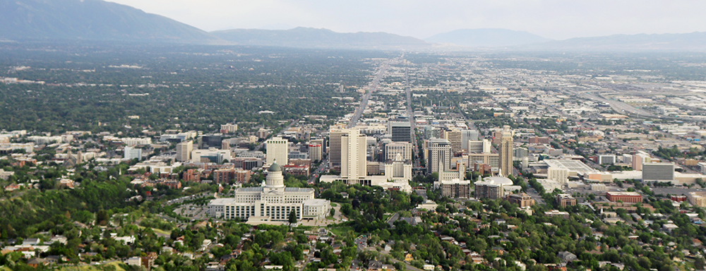 Photo of Salt Lake City Skyline