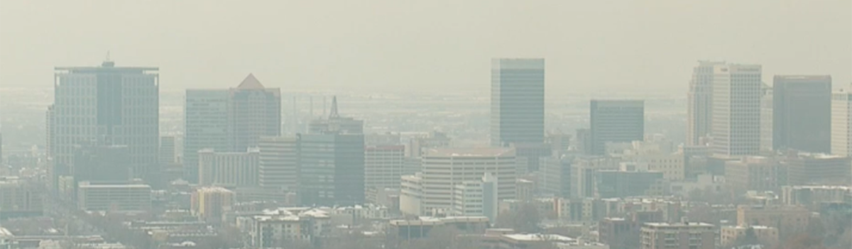 SLC with bad air quality